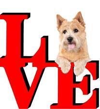 Norwich Terrier Love Park Cute Dog Fridge Refrigerator Car Magnet