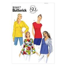Butterick Patterns B5857 Misses' Top Sewing Template, Size Y