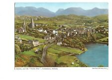 Postcard Clifden and the Twelve Pins County Galway Connemara Ireland   (B4k)