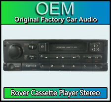 Rover 75 Cassette tape player, Rover XQD100950 R760 car radio stereo with code