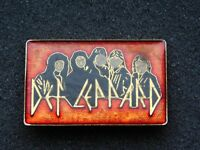 VINTAGE METAL PIN  ROCK MUSIC BAND DEF LEPPARD