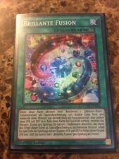Yugioh 1x GERMAN Brilliant Fusion Super Rare CORE-DE056 NM 1st