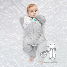 Love To Dream Swaddle Up Transition Suit Warm 2.5 Tog White Medium