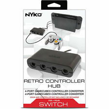 Nyko Technologies Nintendo Switch Game Cube Controller Adapter - Black