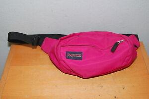Vintage JANSPORT Fanny Pack Waist 2 Pocket Pink