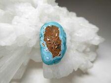 Blue Hemimorphite Gemstone Cab Natural Earth Mined Stone Jewelry Pendant or Bead