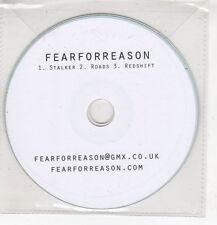 (HF737) Fear For Reason, Stalker / Roads / Redshift - DJ CD
