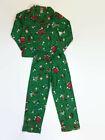 The Peanuts Boys Green Snoopy Charlie Brown Christmas Coat-Style Pajamas