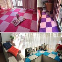 EVA Teppich Kinder Spielen Teppiche  Matte Wildleder Wohnzimmer Bunt Rutschfeste