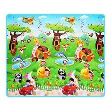 Baby Crawl Play Mat Toddler Activity Foam Gym  Floor Rug Kid Eductaional Toy  US