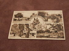 1940's fr postcard- Horsham multiview - West Sussex