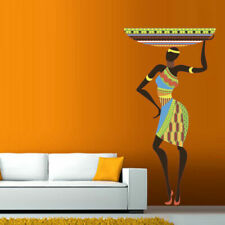 Full Color Wall Decal woman Africa lady tribe Ethiopia people Bedroom mcol6