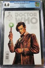Doctor Who : The Eleventh Doctor 1 CGC Graded 8.0 1:100 Alice X. Zhang Variant