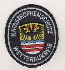 Feuerwehr Behörden Uniform Aufnäher Patches Katastrophenschutz Wetteraukreis