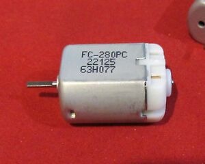 10mm D Flat Shaft, FC-280PC-22125 Door Lock Motor, Actuator Repair, Toyota Lexus