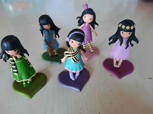 Lot de 5 figurines Santoro Gorjuss - en parfait état