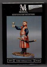 M MODEL 32074 - POLISH NOBLEMAN XVII C. - 54mm RESIN KIT