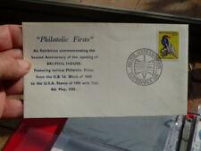 1980PHILATELIC FIRSTS BRIPHIL ELSTERNWICK POSTMARK COVER