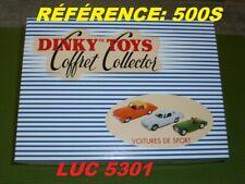 """Coffret Dinky-atlas """"voitures de Sport"""""""