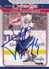 TOMAS FLEISCHMANN CAPITALS AUTOGRAPH AUTO 09/10 O-PEE-CHEE OPC #170 *25387