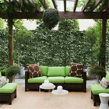 Artificial Faux Ivy Leaf Privacy Fence Screen Home Garden Panels Outdoor Hedge