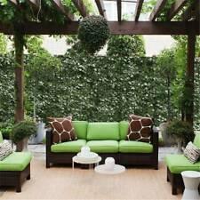 Valla de Privacidad Hoja Artificial Imitación Ivy paneles de pantalla de inicio jardín al aire libre de cobertura
