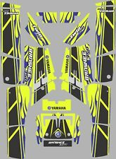 Vibrant Highlighter Yamaha Banshee Graphics Decals