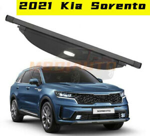 FIT FOR 2021 Kia Sorento black  Car Rear Trunk Cargo Luggage Shade Cover 1pcs