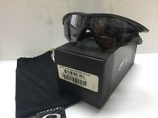 Used Oakley New M Frame Sweep Smoke Black Iridium (09-611), With Box Rare