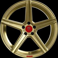 MB Design KV1 Gold glänzend Felge 10.5x20 - 20 Zoll 5x108 Lochkreis