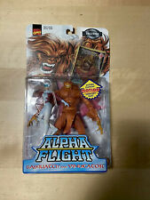 Marvel Alpha Fight: SASQUATCH & VINDICATOR Action Figures with Collector Card
