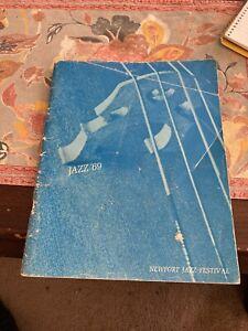 Newport Jazz Festival, Original Program For 1969: Frank Zappa, Led Zeppelin, VG