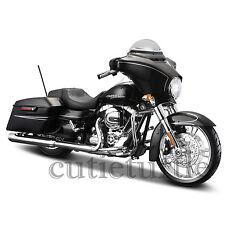 Maisto 2015 Street Glide Special 1:12 Harley Davidson Motorcycle 32328 Black