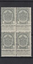timbres belgique no81 bloc de 4  neuf **