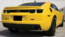 For 2010-2013 Chevrolet Camaro Rear Black Stainless Steel Bumper Cover Grille