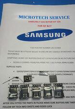 SAMSUNG ps50q7hd ps50c7hd/lj92-01436a/bn96-03360a Kit di riparazione vedere annuncio