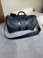 Louis Vuitton Holdall With Extra Rare Limited Additon Strap
