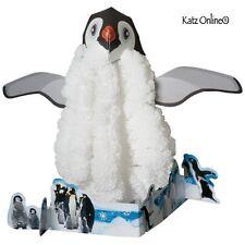 Kids Magic Growing Crystal Snow Penguin Kit Science Experiment Toy Gift Set Toys