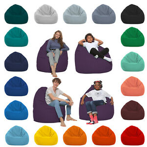 HomeIdeal - Sitzsack XXL Bodenkissen für Erwachsene & Kinder
