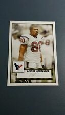 ANDRE JOHNSON 2006 TOPPS HERITAGE FOOTBALL CARD # 105 A9325