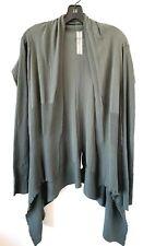 Rick Owens Grey Cardigan Sweater Medium