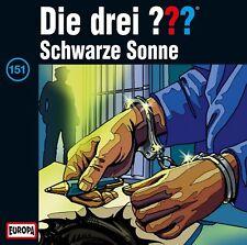 CD neuf- 151/Schwarze Sonne Die Drei Fragezeichen C19