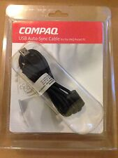 Compaq USB Autosync Cable for IPAQ Pocket PC 173762-001 176311-001 New in Box