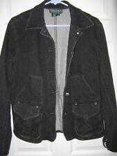 women's RALPH LAUREN jeans jacket--LARGE--heavy denim--EUC