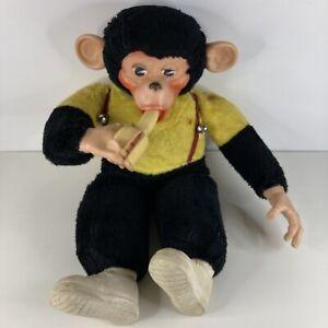 "Vintage Zippy the Monkey 19"" Stuffed Plush with Banana Mr. Bim Zip Chimp"