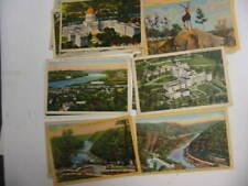 50 Older West Virginia Postcard Lot