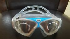 ZOGGS SWIMMING VISION MASK LARGE ADULT GOGGLES ANTI FOG UV BLOCK 180° Vision