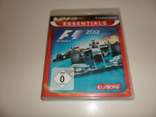 PlayStation 3 PS 3 f1 2012-formula 1