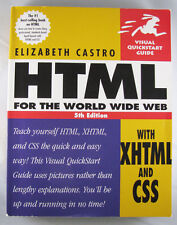 HTML for the WORLD WIDE WEB 5TH EDITION with XHTML and CSS Visual Quickstart