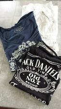 Damen-Outfit, 3-teilig, Jeans weiß und 2 T-Shirts, Gr. 36/38